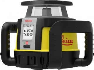 LEICA RUGBY CLA z CLX600 + COMBO detektor lasera